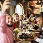 diverse restaurant guests