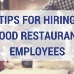 good restaurant employees