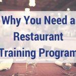 restaurant training program