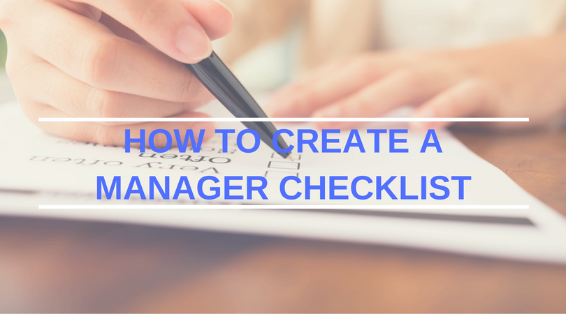 how to create a restaurant manager checklist the restaurant expert