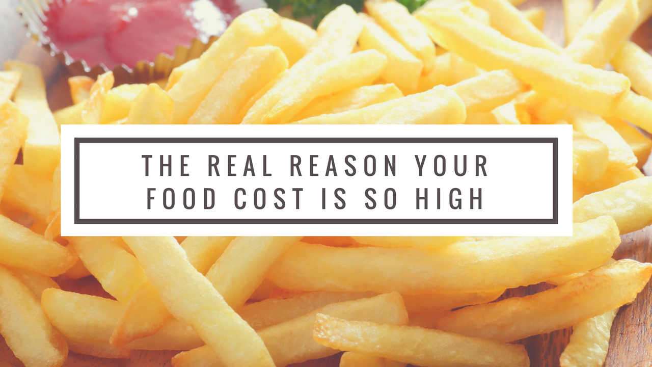 reason food cost is so high