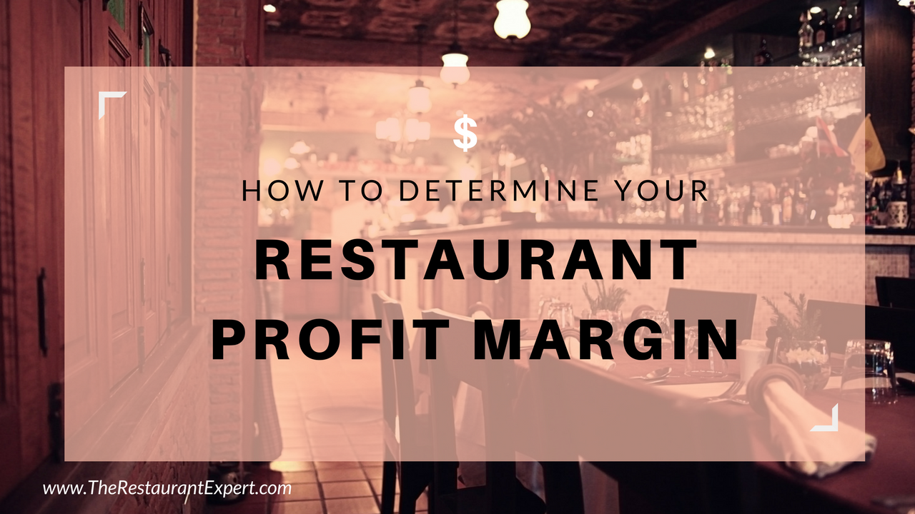 how to find profit margin