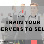how to train servers to sell