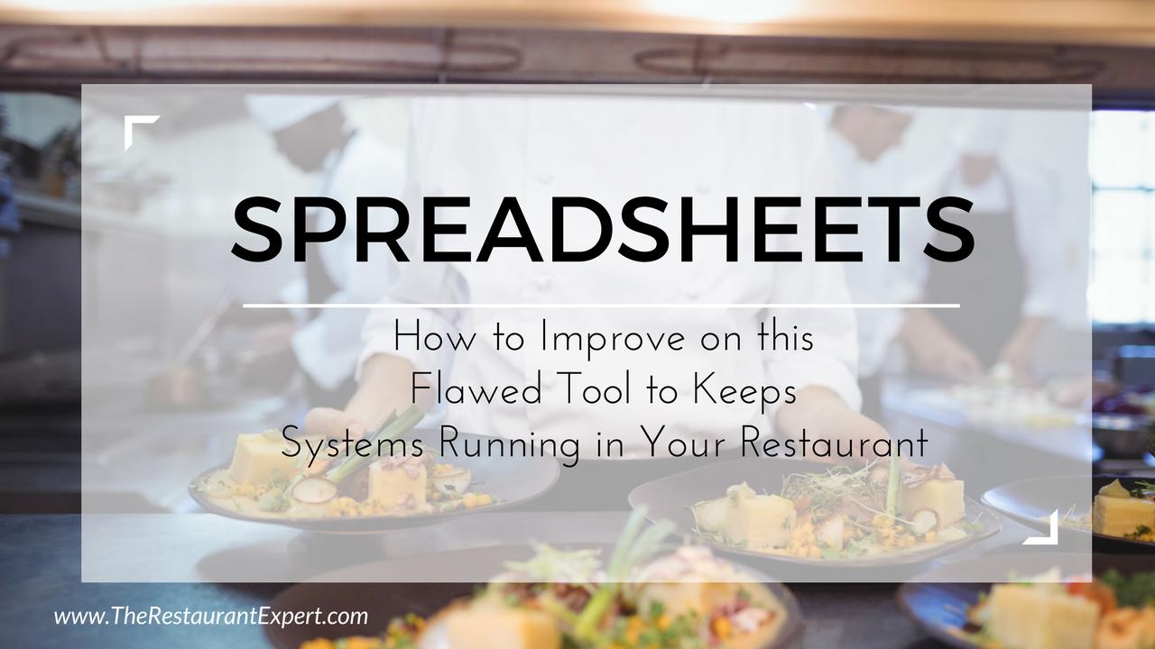 restaurant spreadsheets are dead the restaurant expert