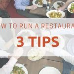 How to run a restaurant