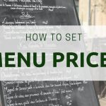 how to set restaurant menu prices