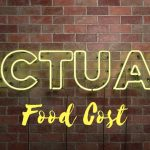 actual food cost