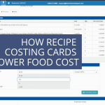 recipe costing lower food cost
