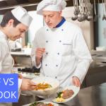 chef vs cook