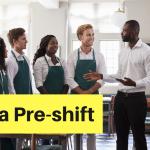 pre-shift meeting